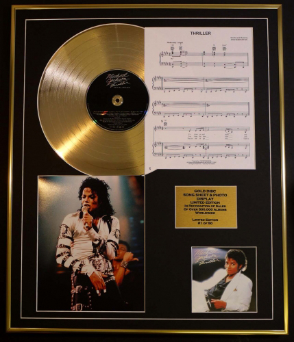 GOLD DISC,SONGSHEET PHOTO DISPLAY