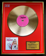 Gold Discs, Record Signed