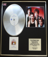 Platinum Record/Discs/Limited Edition & Photo Display
