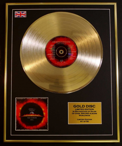 Over 2,000 Ltd. Edition Cd Gold Discs