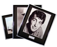 Iconic Movie & Screen Legends Photographs framed
