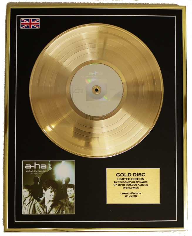A-ha/Limited Edition Cd Gold Disc/'The Singles 1984 - 2004'/(A-ha)