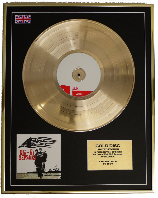 A/LIMITED EDITION/CD GOLD DISC/ALBUM 'HI-FI SERIOUS'/(Ace)