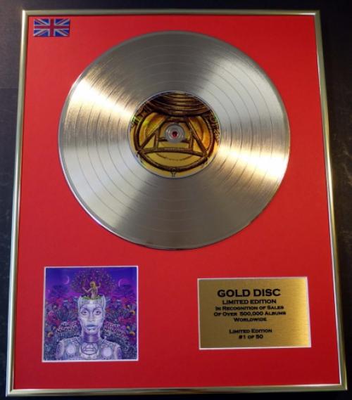 AMERYKAH/LTD. EDITION CD GOLD DISC/RECORD/