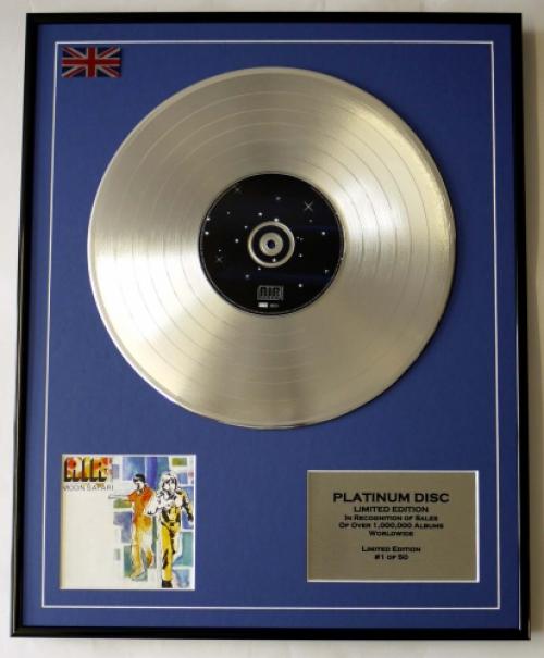 AIR/LIMITED EDITION/CD PLATINUM DISC/RECORD/MOON SAFARI