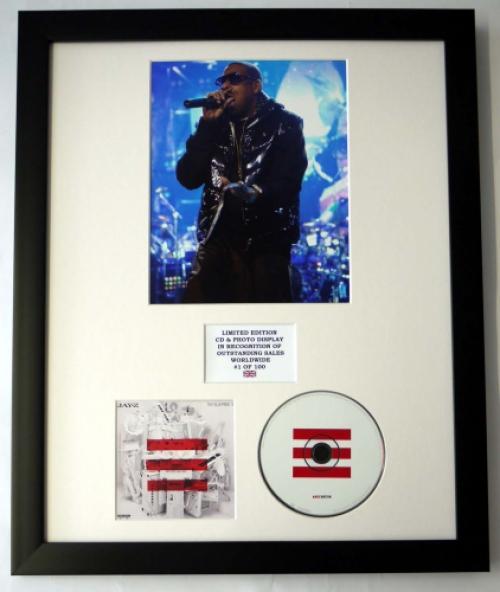 Jay zphoto cd display ltd edition of the album the blueprint 3 edition of the album the blueprint 3 malvernweather Choice Image