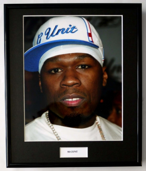 50 CENT/FRAMED PHOTO
