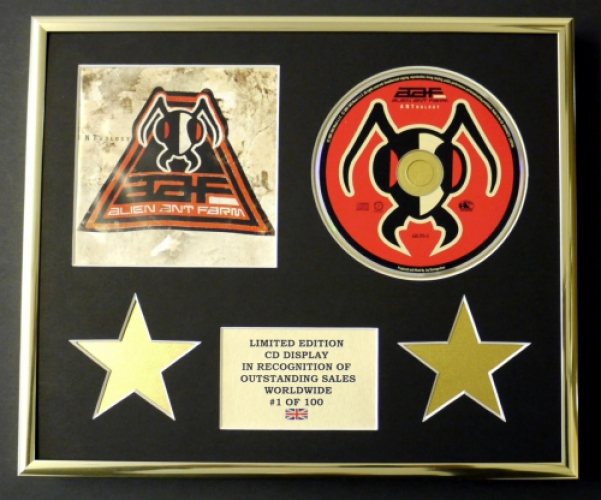 ALIEN ANT FARM/CD DISPLAY/LIMITED EDITION/COA/ANTHOLOGY