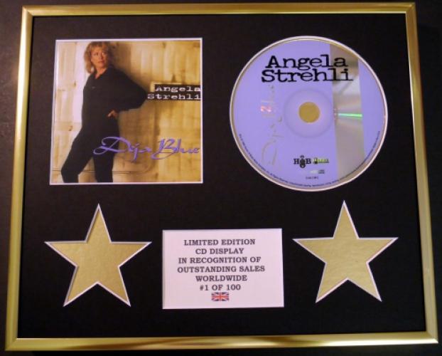 ANGELA STREHLI/CD DISPLAY/LIMITED EDITION/DEJA BLUE