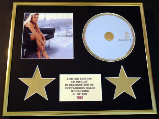 DIANA KRALL/CD DISPLAY/LIMITED EDITION/THE LOOK OF LOVE