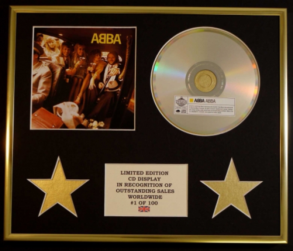 ABBA/CD DISPLAY/ LIMITED EDITION/COA/ABBA