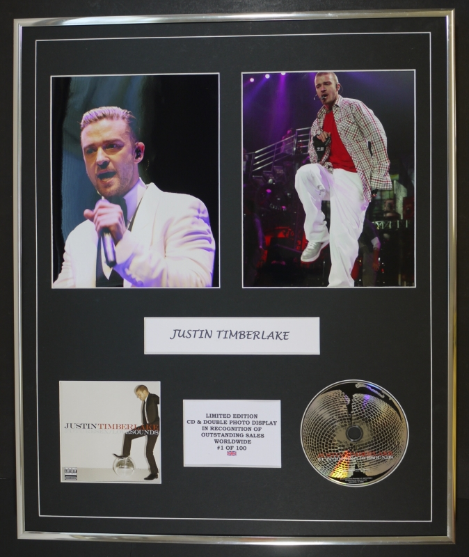 Futuresex Lovesounds Deluxe Version Justin Timberlake: JUSTIN TIMBERLAKE/CD & DOUBLE PHOTO DISPLAY/LTD EDITION