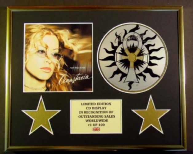 ANASTACIA/DC/CD DISPLAY/ LIMITED EDITION/COA/NOT THAT KIND