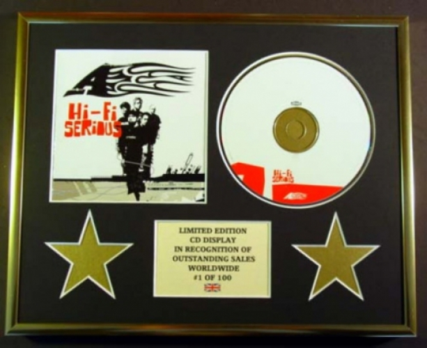 A/CD DISPLAY/ LIMITED EDITION/COA/HI-FI SERIOUS