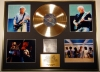 PINK FLOYD, GIGANTIC CD GOLD DISC & PHOTO DISPLAY, LTD. EDITION, COA, DARK SIDE OF THE MOON