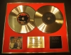 AC, DC, DOUBLE CD GOLD DISC DISPLAY, LTD. EDITION, COA,