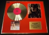 CHERYL COLE, CD GOLD DISC & SIGNED PHOTO DISPLAY, COA