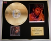 GEORGE MICHAEL, CD GOLD DISC & SIGNED PHOTO DISPLAY, COA