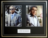 STEVE MCQUEEN, DOUBLE PHOTO DISPLAY, FRAMED